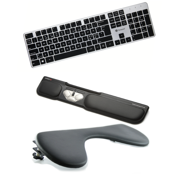 Bilde av RollerMouse Pro3 + Arm Support + Keyboard