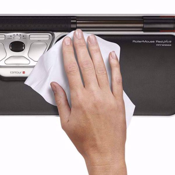 Bilde av RollerMouse Contour  Disinfectant Wipe (20 stk.)