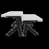 Bilde av Y-Design hev/senk-bord - SORT understell - Bordplate | sort | grå | hvit