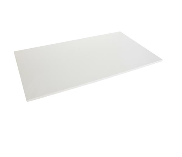 Bilde av Bordplater rektangulær HVIT - På lager!
