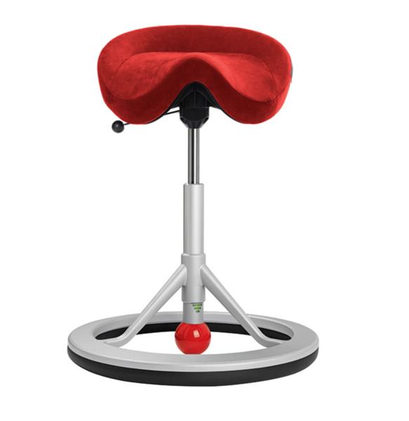 Bilde av Backapp Smart Silver Grey, ALCANTARA Standardfarger, Red ball