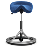 Backapp Smart Polished Alu, Alc. Bohemian Blue, Black ball 1008A-P-1-X7586