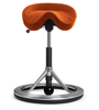 Backapp Smart Polished Alu, Alc. Cadmium Orange, Black ball 1008A-P-1-X4025