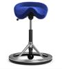 Backapp Smart Polished Alu, Alc. Infanta Blue, Black ball 1008A-P-1-X6408
