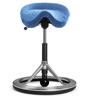 Backapp Smart Polished Alu, Alc. Porcelain Blue, Black ball, 1008A-P-1-X4175