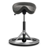 Backapp Smart Polished Alu, Alc. Stone Grey, Black ball 1008A-P-1-X5810